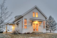 :: Havens South Designs :: loves this small Farmhouse exterior by Dan Nelson, Designs Northwest Architects
