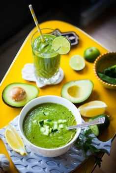 A raw green smoothie for those times you need to pack in some nutrients