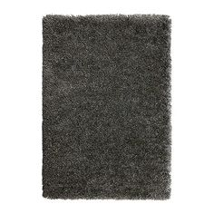 GÅSER Tapis, poils hauts - bleu gris, 170x240 cm - IKEA