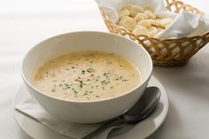This is the Culinary Institute of America's version of the American classic, rich and creamy. Paired with a salad and bread, it becomes a hearty meal.