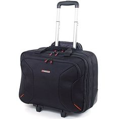 """And it is lightweight!Made from the best possible materials and providing a great value. Laptop Sleeve Measures 16 1/2"""" x 10"""" x 2"""". Inline Skate Wheels & Retractable Hidden Handle with 2 Height Levels   Front Organizer. 