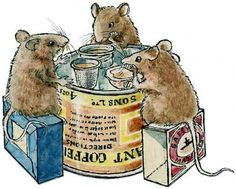 """""""The Church Mouse"""" by author and illustrator Graham Oakley"""