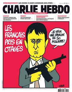 http://www.charliehebdo.fr/images/couv2013/01-1140.jpg - Charlie-Hebdo - semaine du 23 avril 2014 #satire #parodie #rançonneurs #rançonnés L'art de rançonner les cloches...