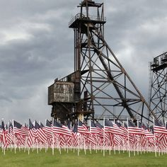 Field of Honor ,  Butte Montana.  Thank you to all of the service men and women.