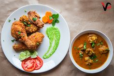 #foodphotography #food #chicken #chickenfry Fried Chicken, Food Photography, Curry, Ethnic Recipes, Curries, Baked Fried Chicken