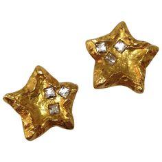 CHRISTIAN LACROIX Gold Metal Earrings