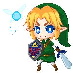 (animated) :Link: Ocarina Of Time pixel by *PrinceOfRedroses on deviantART