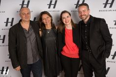Hasselblad Step and Repeat at the Industry City Opening Party and Interior Designer's Event. Photo by Jason Carter Rinaldi