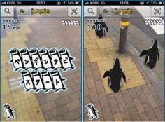 Follow the Penguins augmented reality wayfinding