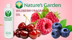 Wildberry Fragrance Oil- Natures Garden #fragranceoil #fragrances