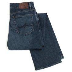 Mid Blue Charisma Jeans by 34 Heritage, Mid Blue