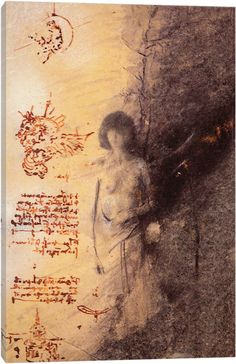 Missing Leonardo by Nick Bantock Canvas Art