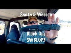 Smith & Wesson SWBLOP3 Black Ops Folding Knife