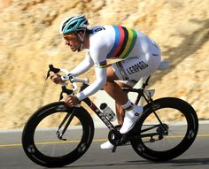 Fabian Cancellara (Champion Cycling Swiss) One best riders in the history of cycling