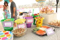 Tiny Oranges - Fresh, fun blog for OC moms - A Beach Theme Birthday Party