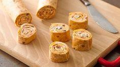Veggie Tortilla Roll-Ups