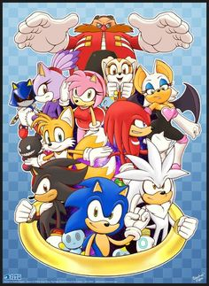 Who is your favorite | Hmm.... I can't decide between Sonic, Shadow, or Silver :)