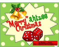 Christmas Dice Game (