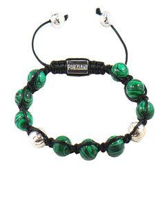 Men's Malachite Luck and Money Bracelet
