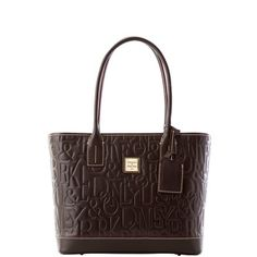 Dooney & Bourke: DB Retro Embossed Leather Small Russel Bag