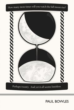 Illustration Paul Bowles Quote Fine Art Print