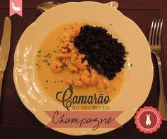 Confraria dos Chefs: Camarão ao Molho de Champagne