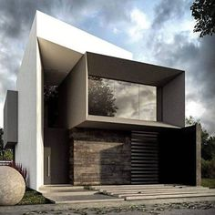 Unbelievable Modern Architecture Designs – My Life Spot Modern Architecture House, Modern House Design, Architecture Design, Arch House, Facade House, Facade Design, Exterior Design, Building Design, Building A House