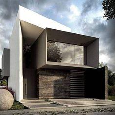 Unbelievable Modern Architecture Designs – My Life Spot Modern Architecture Design, Facade Design, Modern House Design, Exterior Design, Arch House, Facade House, Futuristic Home, 3d Home, Modern Exterior