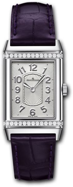 Jaeger LeCoultre Watch Reverso Grande Lady Ultra Thin #bezel-diamond…