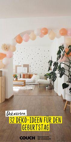 aboutperri macht es vor uns zeigt uns ihre Geburtstagsdekoration Zuhause. Sie hat sich für Ballons und Pompoms in Pastell-Tönen entschieden. Weitere Ideen findest du hier bei uns! #deko #dekoration #geburtstag #ballon #pompom #pastell #töne #farbe #gestalten #interior #einrichten #COUCHstyle Aktiv, Architecture, Birthday, Inspiration, Home Decor, Pastel, Decorating Ideas, Homemade, Ad Home