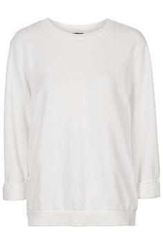 Washed '90s Sweatshirt - Topshop
