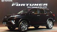 Tampilan Desain Eksterior Toyota Fortuner 2016