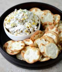 Sweet Corn, Bacon and Scallion Greek Yogurt Chicken Salad.serve on greens or as a sandwich or wrap or as a dip with crackers Corn Recipes, Gourmet Recipes, Appetizer Recipes, Salad Recipes, Cooking Recipes, Healthy Recipes, Appetizers, Recipes Dinner, Pasta Recipes