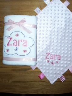 A lovely new baby gift. A soft fleece blanket and bubble effect comforter both personalised with babies name. Personalised Gifts Home, Customized Gifts, New Baby Gifts, Baby Names, Comforter, New Baby Products, Bubbles, Blanket, Personalized Gifts