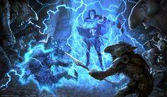 The amazing fantasy illustrations and paintings of Svetlin Velinov, a freelance concept artist and illustrator from Bulgaria. Fantasy Rpg, Fantasy Artwork, Dark Fantasy, Fantasy Life, Medieval Fantasy, Character Concept, Character Art, Concept Art World, Magic Art
