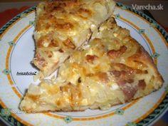 Slovakia Food | Kysnutý cibuľový koláč | Recipes to Try - Czech or Slovak