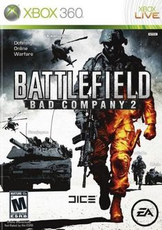 Battlefield Bad Company 2 - Xbox 360 by Electronic Arts Playstation, Battlefield Bad Company 2, Battlefield 2, Ea Dice, Electronic Arts, Xbox 360 Console, Software, Latest Video Games, Xbox 360 Games