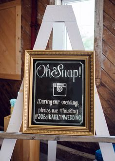 This is a custom hand lettered chalkboard sign for a wedding hashtag. Here are the steps you can follow in order to get the perfect custom