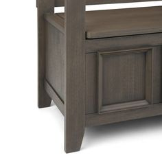 WYNDENHALL Halifax SOLID WOOD 48 inch Wide Transitional Entryway Storage Bench - 48 Inches wide - On Sale - Overstock - 7326885 Entryway Bench Storage, Bench With Storage, Storage Spaces, Traditional Benches, Bed Bench, Tufted Ottoman, Storage Compartments, Wood Veneer, Solid Wood