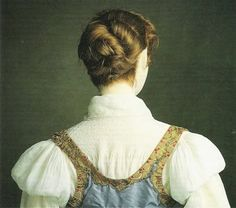 Princess Charlotee Augusta of Wales's jumper dress from the portrait - back view