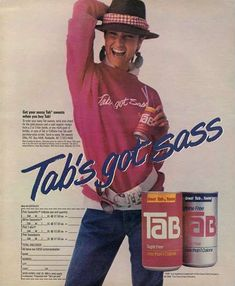 Who else's grandmother had a serious Tab habit? http://www.liketotally80s.com/2015/01/80s-soda/