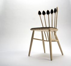 Wood Dining Chair by Jonas Jensen Lyndby Picture 01