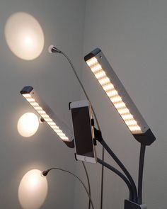 Love my new toy - Glamcor light!. It makes my studio looking cool!