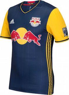 Adidas lança camisa reserva do New York Red Bulls para a MLS 2016 - Show de 1126497325ad0