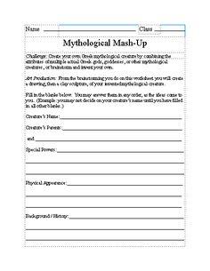 Free Essay: Foundations of Mythology Short Answers