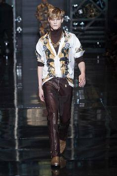 Men's fashion: Versace for Fall-Winter 2014/2015