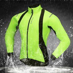 7bc3c98d439 Waterproof Reflective Thermal Fleece Cycling Jackets