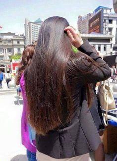 by Long Hair Indian Long Hair Braid, Braids For Long Hair, Black Hair Video, Loose Hairstyles, Indian Hairstyles, Long Dark Hair, Natural Hair Styles, Long Hair Styles, Haircut And Color
