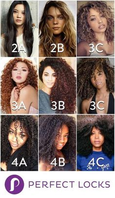 The Hair Type Chart Discover Your Hair Type Natural