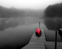 Selective color in fog